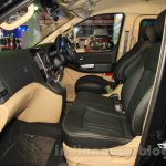 Hyundai H-1 Black Edition front seats at the 2015 Indonesia International Motor Show