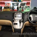 Hyundai H-1 Black Edition interior at the 2015 Indonesia International Motor Show
