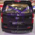 Hyundai H-1 Black Edition rear at the 2015 Indonesia International Motor Show