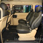 Hyundai H-1 Black Edition rear seats at the 2015 Indonesia International Motor Show