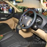 Hyundai H-1 Black Edition steering wheel at the 2015 Indonesia International Motor Show