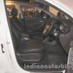 Hyundai Santa Fe D-Spec front seats at the 2015 Indonesia International Motor Show