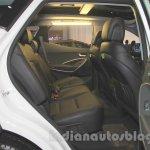 Hyundai Santa Fe D-Spec rear seat at the 2015 Indonesia International Motor Show