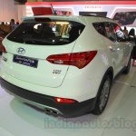 Hyundai Santa Fe D-Spec rear three quarter at the 2015 Indonesia International Motor Show