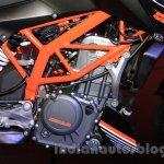 KTM Duke 250 engine at the Indonesia International Motor Show 2015 (IIMS 2015)