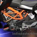 KTM Duke 250 frame at the Indonesia International Motor Show 2015 (IIMS 2015)