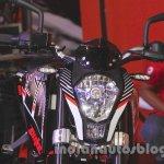 KTM Duke 250 headlight at the Indonesia International Motor Show 2015 (IIMS 2015)