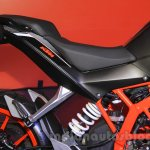 KTM Duke 250 seat at the Indonesia International Motor Show 2015 (IIMS 2015)