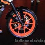 KTM Duke 250 wheel at the Indonesia International Motor Show 2015 (IIMS 2015)