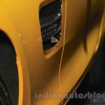 Mercedes AMG GT S fender vent at the Gaikindo Indonesia International Auto Show 2015
