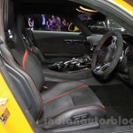 Mercedes AMG GT S front seats at the Gaikindo Indonesia International Auto Show 2015
