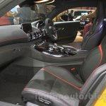 Mercedes AMG GT S front seats left at the Gaikindo Indonesia International Auto Show 2015
