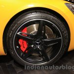 Mercedes AMG GT S front wheel at the Gaikindo Indonesia International Auto Show 2015