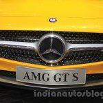 Mercedes AMG GT S grille at the Gaikindo Indonesia International Auto Show 2015