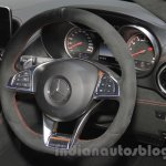Mercedes AMG GT S steering wheel at the Gaikindo Indonesia International Auto Show 2015