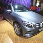 Mercedes GLC at the 2015 Gaikindo Indonesia International Auto Show