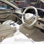 Mercedes Maybach S-Class S500 dashboard Gaikindo Indonesia International Auto Show 2015