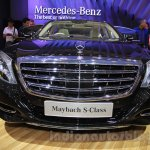 Mercedes Maybach S-Class S500 front Gaikindo Indonesia International Auto Show 2015