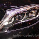 Mercedes Maybach S-Class S500 headlamp Gaikindo Indonesia International Auto Show 2015