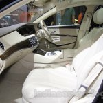 Mercedes Maybach S-Class S500 interior Gaikindo Indonesia International Auto Show 2015