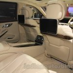 Mercedes Maybach S-Class S500 leg room Gaikindo Indonesia International Auto Show 2015