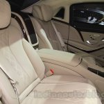 Mercedes Maybach S-Class S500 rear seat Gaikindo Indonesia International Auto Show 2015