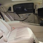 Mercedes Maybach S-Class S500 rear seats Gaikindo Indonesia International Auto Show 2015