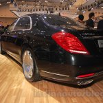 Mercedes Maybach S-Class S500 rear three quarter Gaikindo Indonesia International Auto Show 2015