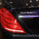 Mercedes Maybach S-Class S500 taillamp Gaikindo Indonesia International Auto Show 2015