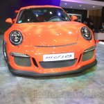 Porsche 911 GT3 RS at the 2015 Gaikindo Indonesia International Auto Show