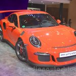 Porsche 911 GT3 RS front three quarter at the 2015 Gaikindo Indonesia International Auto Show