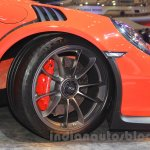 Porsche 911 GT3 RS front wheel at the 2015 Gaikindo Indonesia International Auto Show