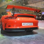 Porsche 911 GT3 RS rear fascia at the 2015 Gaikindo Indonesia International Auto Show