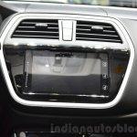 Suzuki SX4 S-Cross infotainment at the Geneva Motor Show 2016
