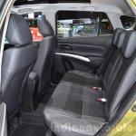 Suzuki SX4 S-Cross rear seat at the Geneva Motor Show 2016