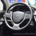 Suzuki SX4 S-Cross steering wheel at the Geneva Motor Show 2016