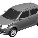 Suzuki iM-4 top view patent sketch