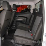 Tata Xenon XT 2.2 rear cabin at the 2015 Gaikindo Indonesia International Auto Show