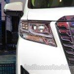 Toyota Alphard Hybrid headlamp at the Gaikindo Indonesia International Auto Show 2015