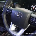 Toyota Fortuner MT (Manual Transmission) variant steering wheel
