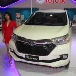Toyota Grand New Avanza front quarter at the 2015 IIMS