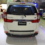 Toyota Grand New Avanza rear at the 2015 IIMS