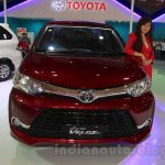 Toyota Grand New Veloz front at the 2015 IIMS