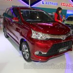 Toyota Grand New Veloz front quarter at the 2015 IIMS