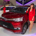 Toyota Grand New Veloz front three quarter at the 2015 IIMS