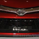 Toyota Grand New Veloz grille at the 2015 IIMS