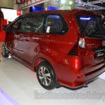 Toyota Grand New Veloz rear three quarter at the 2015 IIMS
