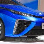 Toyota Mirai bumper at the Gaikindo Indonesia International Auto Show 2015