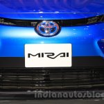 Toyota Mirai grille at the Gaikindo Indonesia International Auto Show 2015