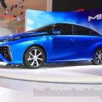 Toyota Mirai side at the Gaikindo Indonesia International Auto Show 2015